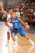 DESCRIZIONE : Bormio Ritiro Nazionale Italiana Maschile Preparazione Eurobasket 2007 Amicehvole Italia Turchia <br /> GIOCATORE : Daniel Lorenzo Hackett <br /> SQUADRA : Nazionale Italia Uomini <br /> EVENTO : Bormio Ritiro Nazionale Italiana Uomini Preparazione Eurobasket 2007 <br /> GARA : Italia Turchia <br /> DATA : 29/07/2007 <br /> CATEGORIA : Penetrazione <br /> SPORT : Pallacanestro <br /> AUTORE : Agenzia Ciamillo-Castoria/S.Silvestri Galleria : Fip Nazionali 2007 <br /> Fotonotizia : Bormio Ritiro Nazionale Italiana Maschile Preparazione Eurobasket 2007 Amichevole Italia Turchia <br /> Predefinita :