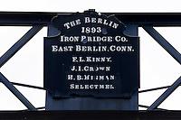 Janice Peaslee Iron Bridge on Maidstone Bridge Road, Stratford, NH