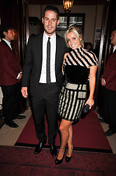 JAMIE & LOUISE REDKNAPP at the annual GQ Awards held at the Royal Opera House, Covent Garden, London on 8th September 2009.