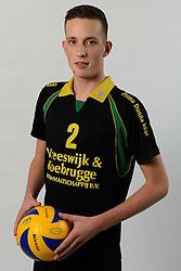 29-10-2014 NED: Selectie Prima Donna Kaas Huizen mannen, Huizen<br /> Selectie seizoen 2014-2015 / Sven de Koe