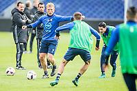 ROTTERDAM - Laatste training voor de Klassieker van Feyenoord , Voetbal , Eredivisie , Seizoen 2016/2017 , Stadion de Kuip , 22-10-2016 , Feyenoord speler Dirk Kuyt