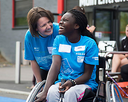 30.08.14 Time To Shine Event on the Queen Elizabeth Olympic Park