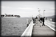 fishing on Point Lonsdale Pier