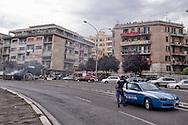 Roma 31 Luglio 2015<br /> Cassonetti bruciati, barricate e la tangenziale est chiusa per circa due ore<br /> per protestare contro la chiusura del Centro per l'assistenza alloggiativa, del comune di Roma, che si trova in via Caltagirone 6. Per oggi era prevista la chiusura della struttura, nata nell'ottobre del 2003,abitata da 50 famiglie.<br /> Rome 31 July 2015<br /> Bins burned, barricades and the eastern ring road closed for about two hours<br /> to protest against the closure of the Centre for housing assistance,of  the municipality of Rome, located in Via Caltagirone 6. For today slated for closure, born in October 2003, inhabited by 50 families.