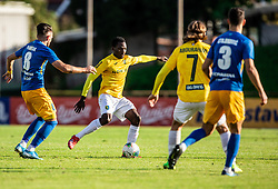Ovbokha Agboyi of Bravo during football match between NK Bravo and NK Celje in 13th Round of Prva liga Telekom Slovenije 2019/20, on October 5, 2019 in ZAK stadium, Ljubljana, Slovenia. Photo by Vid Ponikvar / Sportida