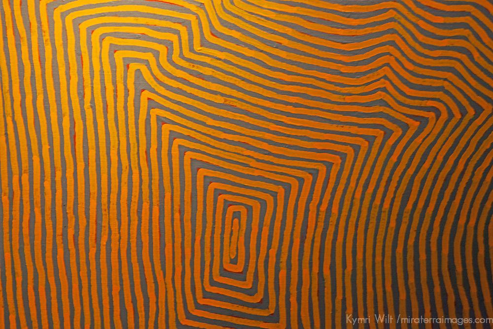 Aboriginal Art at Musee de Quai Branly in Paris.
