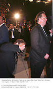 Jonathan Becker & Graydon Carter  at the Vanity Fair Oscar Night Party Mortons,  Los Angeles. 23 March 1998. film 98171f32<br />
