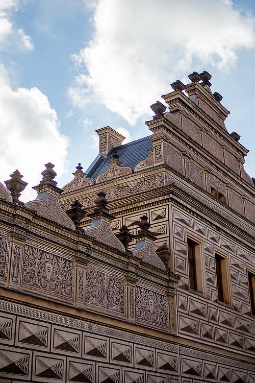Der Palais Schwarzenberg (Nationalgalerie) am Hradcanske Namesti.