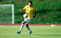 Andraž Kirm of Bravo during football match between NK Bravo and NK Aluminij in 5th Round of Prva liga Telekom Slovenije 2019/20, on August 9, 2019 in Sports park ZAK, Ljubljana, Slovenia. Photo by Vid Ponikvar / Sportida