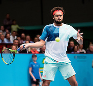 Jo-Wilfred Tsonga during the final of the Erste Bank Open at Wiener Stadthalle, Vienna, Austria.<br /> Picture by EXPA Pictures/Focus Images Ltd 07814482222<br /> 30/10/2016<br /> *** UK &amp; IRELAND ONLY ***<br /> EXPA-PUC-161030-0391.jpg