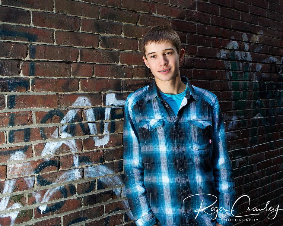 Silas Baker, Senior at Montpelier High School 2013