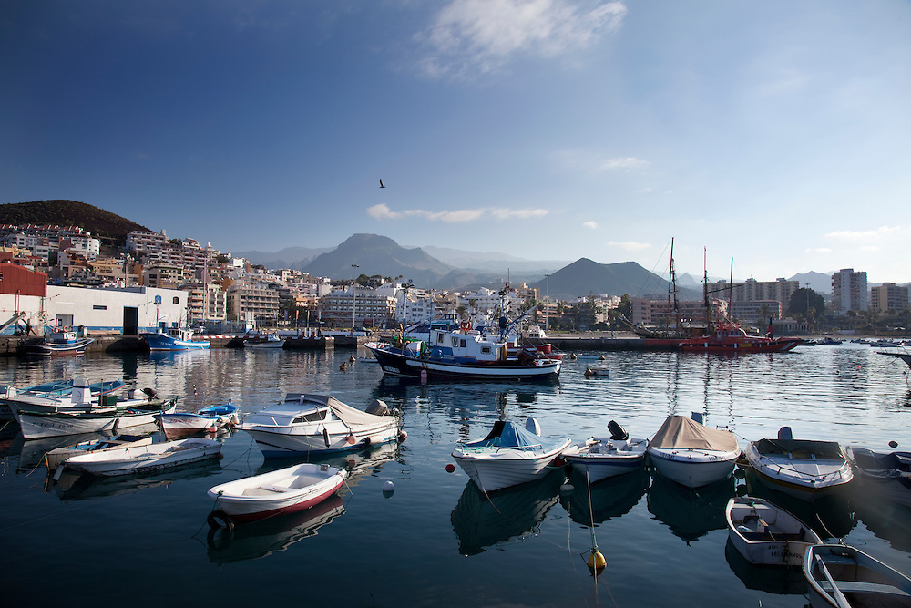 The harbour, Los Cristianos, South Tenerife.