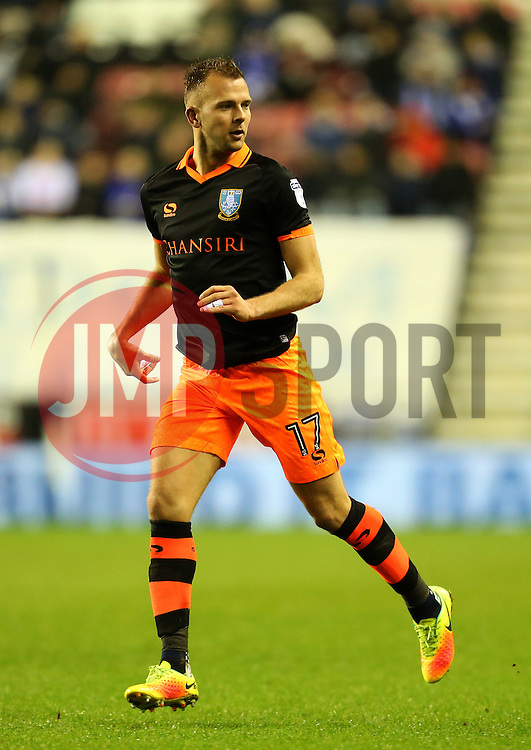 Jordan Rhodes of Sheffield Wednesday - Mandatory by-line: Matt McNulty/JMP - 03/02/2017 - FOOTBALL - DW Stadium - Wigan, England - Wigan Athletic v Sheffield Wednesday - Sky Bet Championship