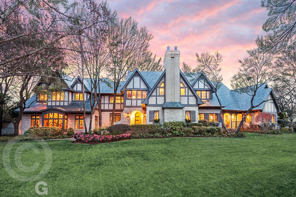 Home exterior, 4707 Chapel Hill Rd., Dallas, Texas
