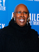 Judith Jamison attends the Alvin Ailey American Dance Theater opening night Gala at City Center in New York City, New York on December 04, 2013.