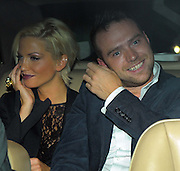 13.AUGUST.2009 - LONDON<br /> <br /> SARAH HARDING WHO WAS WEARING A SEE THROUGH TOP LEAVING NOBU RESTAURANT, BERKLEY SQUARE WITH BOYFRIEND TOM CRANE AND HEADED ONTO MAHIKI CLUB, MAYFAIR WHERE SHE STAYED TILL 12.45AM AND THEN WENT BACK TO HER HOTEL TO CARRY ON PARTYING.<br /> <br /> BYLINE MUST READ : EDBIMAGEARCHIVE.COM<br /> <br /> *THIS IMAGE IS STRICTLY FOR UK NEWSPAPERS & MAGAZINES ONLY*<br /> *FOR WORLDWIDE SALES & WEB USE PLEASE CONTACT EDBIMAGEARCHIVE - 0208 954-5968*