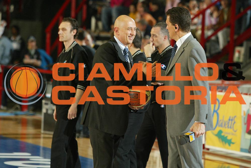 DESCRIZIONE : Napoli Lega A1 2005-06 Carpisa Napoli Snaidero Udine <br /> GIOCATORE : Bartocci Colnago <br /> SQUADRA : Carpisa Napoli <br /> EVENTO : Campionato Lega A1 2005-2006 <br /> GARA : Carpisa Napoli Snaidero Udine <br /> DATA : 20/04/2006 <br /> CATEGORIA : Ritratto <br /> SPORT : Pallacanestro <br /> AUTORE : Agenzia Ciamillo-Castoria/G.Ciamillo
