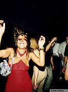 Woman with mad hair Gods Kitchen Ibiza 1999