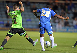 Souleymane Coulibaly of Peterborough United scores the equalising goal - Mandatory byline: Joe Dent/JMP - 07966386802 - 18/08/2015 - FOOTBALL - ABAX Stadium -Peterborough,England - Peterborough United v Sheffield United - Sky Bet League One