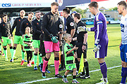 Mascot during the EFL Sky Bet League 2 second leg Play Off match between Forest Green Rovers and Tranmere Rovers at the New Lawn, Forest Green, United Kingdom on 13 May 2019.