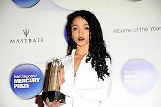OCT 29 2014 Barclaycard Mercury Prize