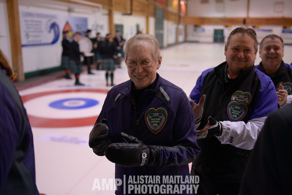 2015 NVD Canadian Masters Curling Championships in Whitehorse, Yukon.
