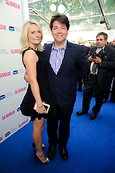 MICHAEL MCINTYRE and  at the Glamour Women Of The Year Awards held in Berkeley Square, London on 8th June 2010.