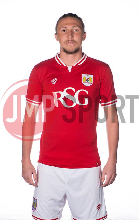 Bristol City's Luke Ayling  - Photo mandatory by-line: Joe Meredith/JMP - Mobile: 07966 386802 - 28/04/2015 - SPORT - Football - Bristol - SGS Wise Campus