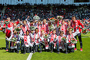 ALKMAAR - 01-05-2016, AZ - de Graafschap, AFAS Stadion, 4-1, AZ onder 12 kampioen.