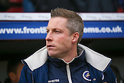 Millwall Manager Neil Harris  during the EFL Sky Bet League 1 match between Bradford City and Millwall at the Northern Commercials Stadium at Valley Parade, Bradford, England on 21 January 2017. Photo by Simon Davies.
