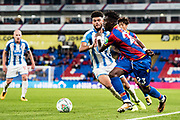 Huddersfield Town (8)Philip Billing, Crystal Palace #23 Pape Souare during the EFL Cup match between Crystal Palace and Huddersfield Town at Selhurst Park, London, England on 19 September 2017. Photo by Sebastian Frej.