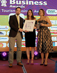 Mayo Business Awards 2018 Best Tourism Business Award Sponsored By Wild Atlantic Way was won by Connacht Whiskey Company Ltd. Fionnan Nester<br />