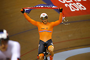 Men Sprint, Jeffrey Hoogland (Netherlands) Gold medal, during the Track Cycling European Championships Glasgow 2018, at Sir Chris Hoy Velodrome, in Glasgow, Great Britain, Day 5, on August 6, 2018 - Photo luca Bettini / BettiniPhoto / ProSportsImages / DPPI<br /> - Restriction / Netherlands out, Belgium out, Spain out, Italy out -