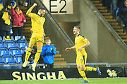 GOAL Marcus Browne celebrates scoring during the EFL Sky Bet League 1 match between Oxford United and Rochdale at the Kassam Stadium, Oxford, England on 27 November 2018.