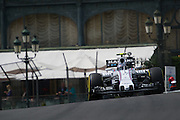 May 20-24, 2015: Monaco F1: Valtteri Bottas (FIN), Williams Martini Racing