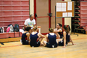 Israel, The Maccabiah an international Jewish athletic event similar to the Olympics held in Israel every four years. Coach instructing participants July 2009