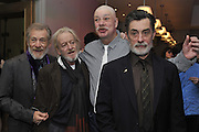 SIR IAN MCKELLEN; RONALD PICKUP; MATTHEW KELLY; ROGER REES, The after-party for Waiting for Godot.( Opening at the Theatre Royal Haymarket. )  Haymarket Hotel. London. 27 January 2010 *** Local Caption *** -DO NOT ARCHIVE-© Copyright Photograph by Dafydd Jones. 248 Clapham Rd. London SW9 0PZ. Tel 0207 820 0771. www.dafjones.com.<br /> SIR IAN MCKELLEN; RONALD PICKUP; MATTHEW KELLY; ROGER REES, The after-party for Waiting for Godot.( Opening at the Theatre Royal Haymarket. )  Haymarket Hotel. London. 27 January 2010