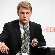 20160615 - Brussels , Belgium - 2016 June 15th - European Development Days - Towards a circular economy for sustainable consumption and production - Ruben Baumer, Young Leader - Circular Economy / Sustainable Consumption and Production Belgium © European Union