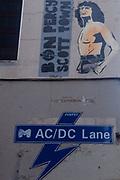 ACDC Lane, Melbourne, Victoria, Australia