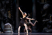 Sylvia<br /> Birmingham Royal Ballet <br /> choreography by David Bentley <br /> at the Birmingham Hippodrome, Birmingham, Great Britain<br /> rehearsal <br /> 23rd June 2015 <br /> <br /> Momoko Hirata as Sylvia<br /> <br /> <br /> <br /> <br /> Photograph by Elliott Franks <br /> Image licensed to Elliott Franks Photography Services