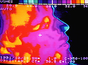 "Failure Analysis Associates, Inc. (an engineering and scientific consulting firm now called Exponent). Menlo Park, California. ""Probeye"" camera sees & measures thermal radiation: Chris Lund. MODEL RELEASED"