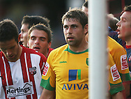 London - Tuesday, August 18th, 2009: Norwich City striker Grant Holt during the game between Brentford and Norwich City during the Coca Cola League One match at Griffin Park, London. (Pic by Chris Ratcliffe/Focus Images)