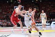 Ojars Silins<br /> EA7 Emporio Armani Olimpia Milano - Dolomiti Energia Trentino<br /> Playoff - Finale - Gara 1<br /> LegaBasket Serie A 2017/2018<br /> Milano, 05/06/2018<br /> Foto M.Ceretti / Ciamillo-Castoria