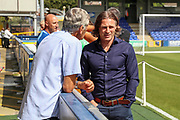 Wycombe Wanderers manager Gareth Ainsworth with hands in pockets during the EFL Sky Bet League 1 match between AFC Wimbledon and Wycombe Wanderers at the Cherry Red Records Stadium, Kingston, England on 31 August 2019.
