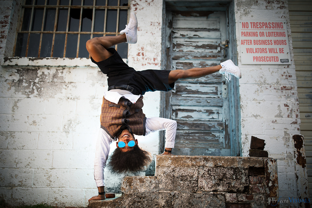 Dom-Sebastian Alexis is the founder of TheBBoyBallet in Greensboro, NC.<br /> <br /> Photographed, Wednesday, December 6, 2017, in Greensboro, N.C. JERRY WOLFORD and SCOTT MUTHERSBAUGH / Perfecta Visuals
