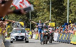 09.07.2016, Wien, AUT, Ö-Tour, Österreich Radrundfahrt, 7. Etappe, Bad Tatzmannsdorf nach Wien/Kahlenberg, im Bild Etappensieger Frederik Backaert (BEL, Wanty - Groupe Gobert) // Stage Winner Frederik Backaert (BEL Wanty - Groupe Gobert) during the Tour of Austria, 7th Stage from Bad Tatzmannsdorf to Vienna/Kahlenberg Wien, Austria on 2016/07/09. EXPA Pictures © 2016, PhotoCredit: EXPA/ JFK