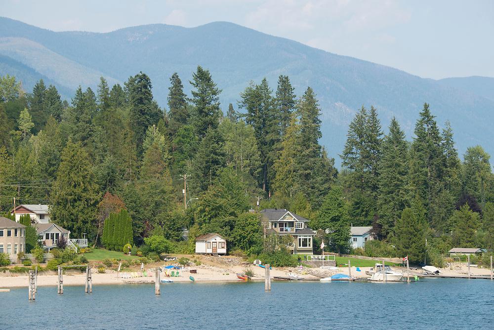Canada, British Columbia,Nelson, Kootenay Lake