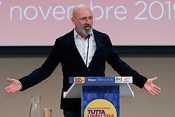 Foto LaPresse/Filippo Rubin<br /> 17/11/2019 Bologna (Italia)<br /> Cronaca Politica<br /> Assemblea Pd a Bologna - Eataly Fico Bologna<br /> Nella foto: Stefano Bonaccini<br /> <br /> Photo LaPresse/Filippo Rubin<br /> November 17th, 2019 Bologna (Italy)<br /> Politics<br /> PD meeting - Fico Eataly World Bologna <br /> In the pic: Stefano Bonaccini