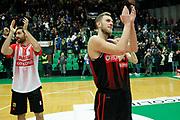 Vene Siim-Sander, Natali Nicola<br /> De'Longhi Treviso vs Openjobmetis Varese<br /> Legabasket SerieA 2019-2020<br /> Treviso (TV), 05/01/2020<br /> Foto  Ciamillo-Castoria <br /> Esultanza