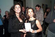 BARONESS Soujata DEVARIs; KAREN  RUIMY, THE ANGEL'S METAMORPHOSIS. Karen Ruimy book PUBLISHED BY QUARTET party. national portrait gallery.